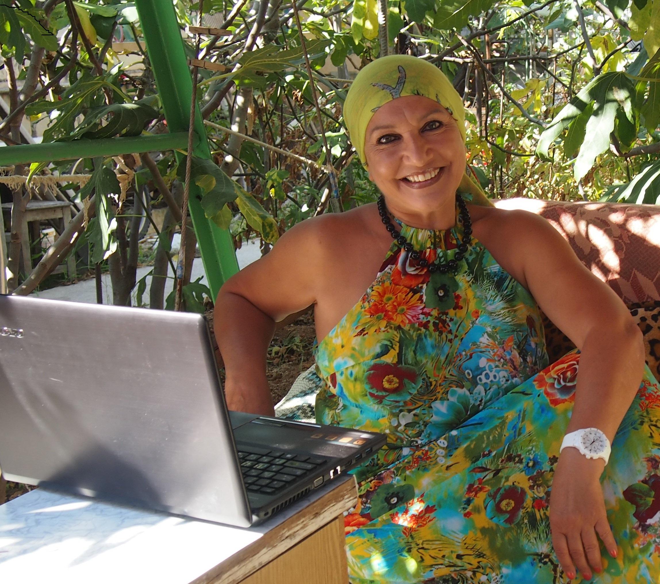 Таня Карацуба Сеид-Бурхан, лето 2014,  Крым
